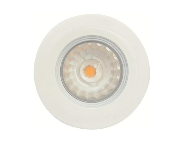 Malmbergs | LED inbouwspot | 1 LEDs | Rond | 5W | Warm Wit (2700k) | Wit | MD-99