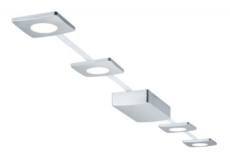 Paulmann  LED spots set  4 Lampjes  4 x 2,2W  Mat Chroom