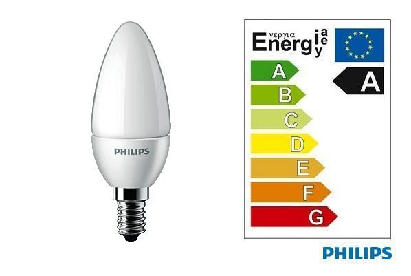 Philips | LED CANDLE | 230V | 4W | 25W | 250Lm | Warm Wit | E14