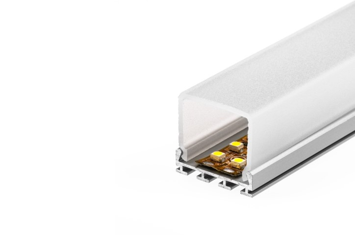 LED Profiel 10 | Double | 26,2 x 24mm | 1M | Vierkant