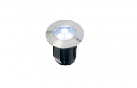 Garden Lights - Grond spot Alpha (6000K | 0,5W | 10lm | 12V | 45x42mm)