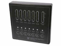 LED Controller | 220V | Fader Panel DMX II, wall mount, 6 ch