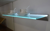 LED Profiel IIII | Glass | 45 x 13 mm | 1M | Glas / PVC 6mm