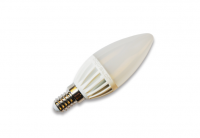 BudgetLine | LED kaars | 230V | 3W | 240Lm | VV 15W | Warm Wit | E14