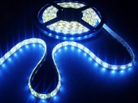 LED strip 7mm breed | Waterdicht IP 65 | Blauw | 5M