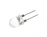 LED 5mm Dip Clear | Wit