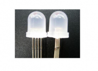 LED 10mm Dip Milky | Wit