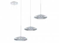 Eglo | Chrome LED Hanglamp | 3 x 4,5W | TARUGO
