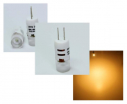 LED steeklampje | 12V | 1,5W | VV 10-15W | Warm Wit | G4 | 110Lm