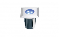 Garden Lights - Groundlight Atria (Blue | 0,5W | 10lm | 12V | 45x42mm| Square)
