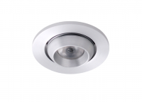 LED inbouwspot | 1 LED | Rond | 3W | 700mA | Warm Wit | WLDA201D3WWW700 | Alu
