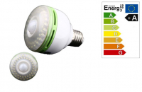 LED Peer | 230V | 8W | 540Lm | VV 60W | Warm Wit | E27 | Bewegingsme