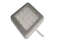 Closet | LED Kastverlichting | Square | 1 Lampje | 1W | 12V | Warm Wit |