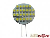LED steeklampje | 12V | 1,5W | VV 8W | Warm Wit | G4 | 80Lm