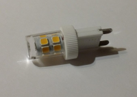 LED steeklampje | 220V | 12 SMD LED | 3W | VV 25W | Warm W