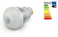 LED Peer | 230V | 6W | 10 of 500Lm | VV 50W | Koud Wit | E27 | Bewegingsme