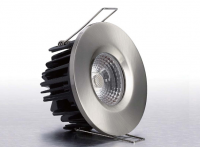 LED inbouwspot | 1 LEDs | Rond | 8W | Warm Wit | RVS