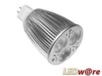 LED Spot (USA) | 12V | 6W | VV 50W | Wit 3800k | MR16
