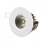 LED inbouwspot | 1 LED | Rond | 8W | Warm Wit | LWIES