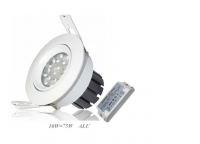 LED inbouwspot | 10 LEDs | Rond | 10W | Warm Wit | LW