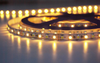 SMD LEDstrip | Waterdicht | 12V | 12W | 150 LEDs | 2,5M | Warm Wit | Epox