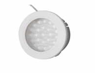 Closet | Click | LED Kastverlichting | 1 Lampje | 1,8W | 24V | Warm Wit