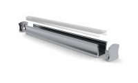LED Profiel Slim Line 15mm | Lens 30Graden, PC, UV Bestendig | 1M