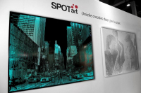 Spot-Art 1 met LED 600x900x50mm