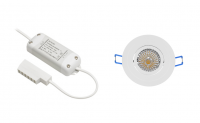 BudgetLine | LED inbouwspot | 1 LED spots | 240Lm | Doe Het Zelf LED Kit | Warm Wit | Ron