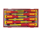 Tengtools | TC-Tray | VDE Schroevendraaierset | 7 delig PH PZ |