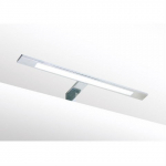 LED Spiegel / Kastverlichting set | 1 Lamp | 6W | Warm wit | 40cm | Mat alu