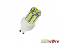 LED steeklampje | 220V | 24 LED | 5W | VV 35W | Warm Wit |